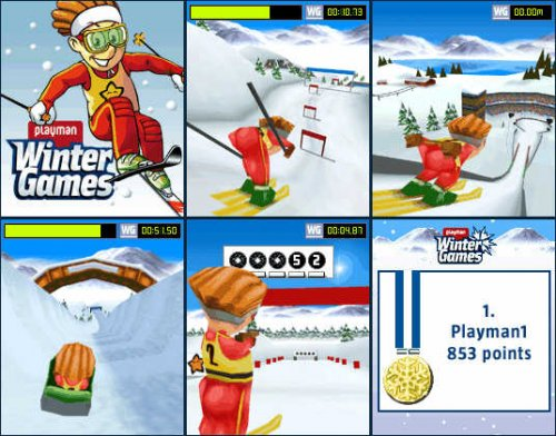3D Winter Games