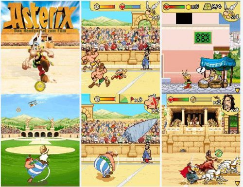 Asterix 2008 - The Official Mobile Game of The Movie